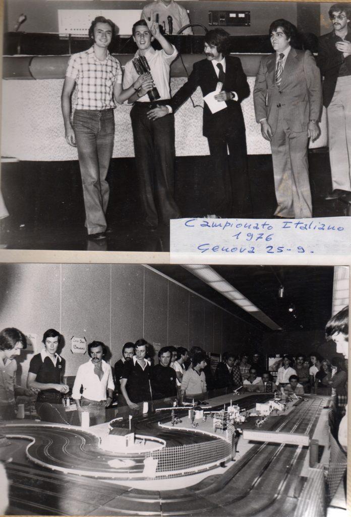 1976 Bruno Novarese e Alberto Capra Campioni Italiani