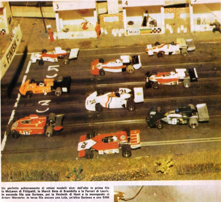 ECA F1 autocostruite in lamierino