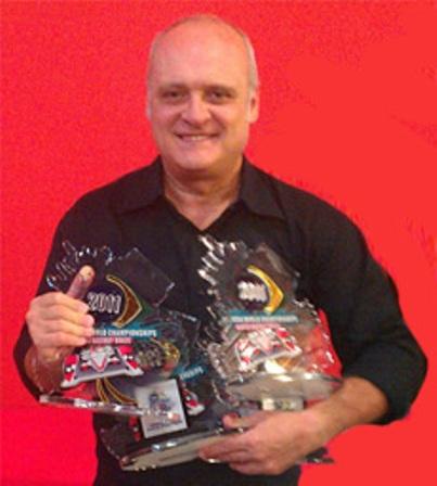 Paolo Trigilio pluricampione del Mondo in Brasile