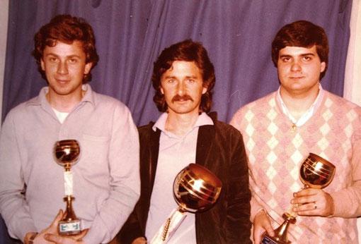 Podio Campionato Italiano 124 ES 1981